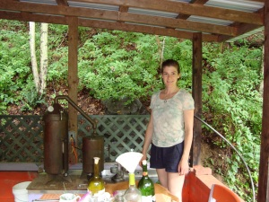 Helen at distiller 2013