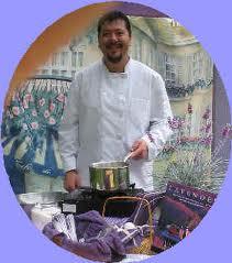 Lavender Fair chefs Geoff Kraus