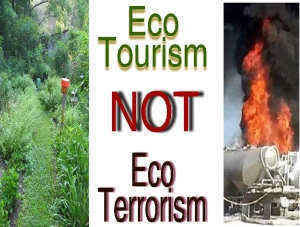 Fracking Poster #4 Ecotourism Not Ecoterrorismbetter