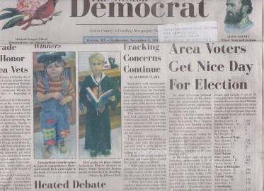 Fracking Headlines 11-7-2014 West.Dem
